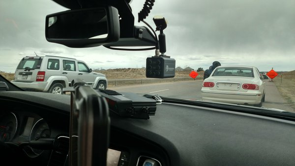 Trooper Mike Glanton cites drivers not wearing seat belts