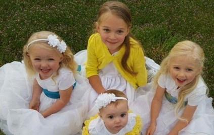 Abigail, Kathryn, Ellianna, and Heidi Miller (Photo: Miller Family via GoFundMe)