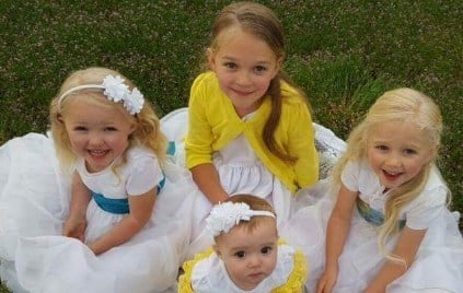 Abigail, Kathryn, Ellianna, and Heidi Miller (Photo: Miller Family via GoFundMe)