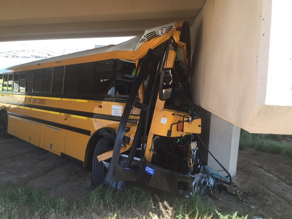 Legacy HS coaches identified in DIA bus crash that killed driver