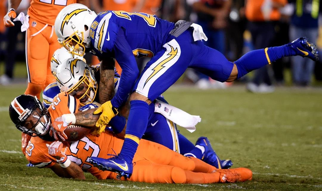 CBS cuts to commercial during Broncos - Chargers play