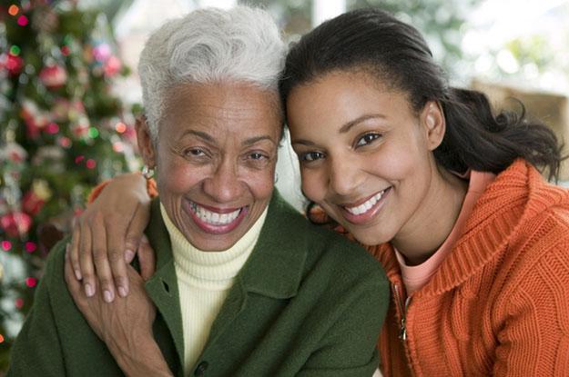 holidays with seniors