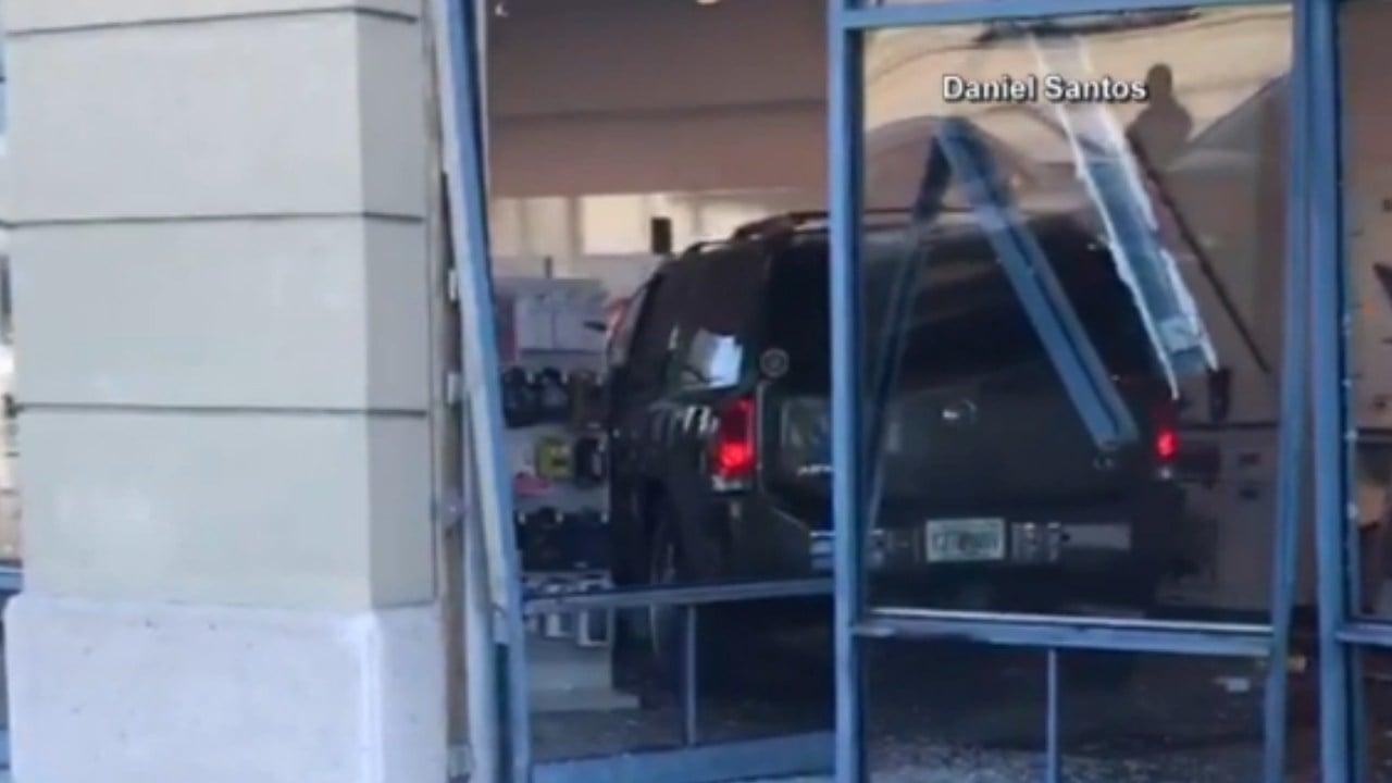 Florida woman having 'bad day' drives SUV into T