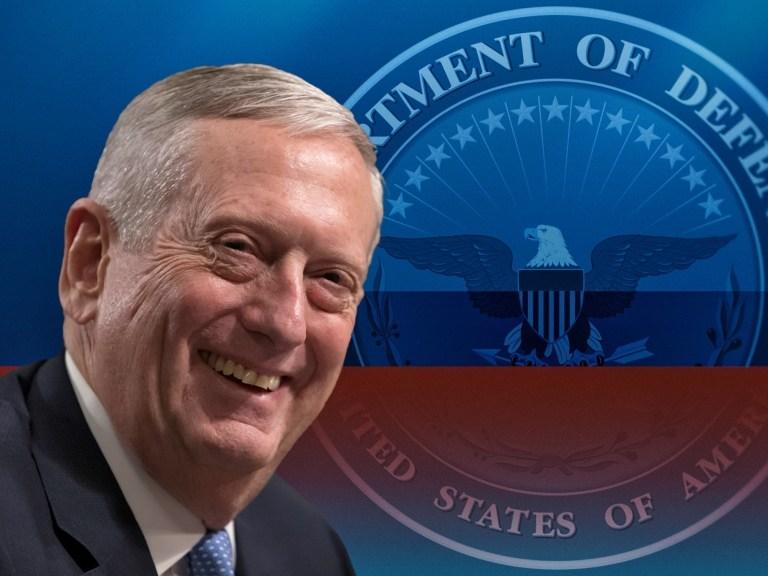 Defense Secretary James Mattis