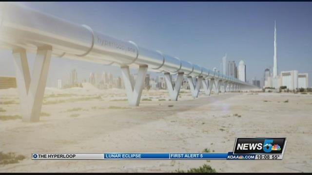 Colorado is a semi-finalist for the Hyperloop One transportation project.