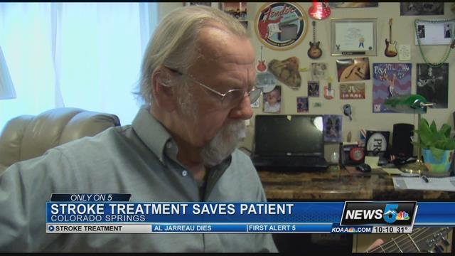 Marty Gordon suffered a stroke in September 2016. (KOAA)