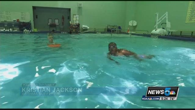 A unique school in Denver is working to help kids with severe asthma breathe a little easier.