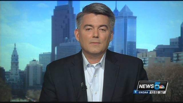 File photo: Senator Cory Gardner