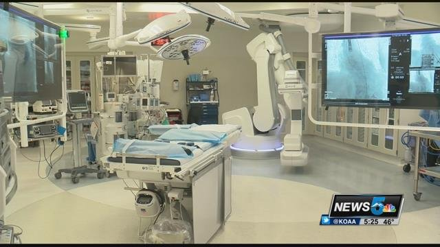 News5 got our first look inside the brand new state of the hybrid operating room at UCHealth Memorial central.
