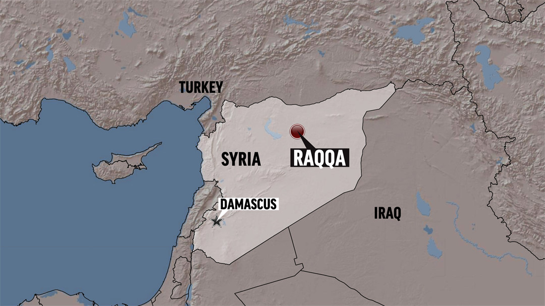 """A U.S.-backed Syrian force has declared victory over the Islamic State group in its former """"capital"""" of Raqqa"""