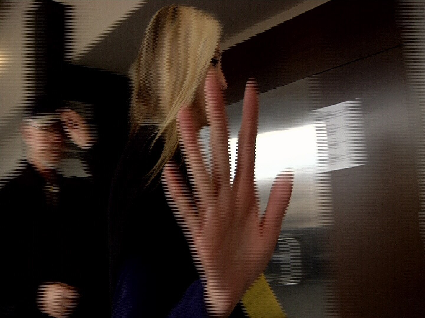 Holly Janette Dalton, 44, leaves the courtroom in Colorado Springs after being advised of the felony theft charge she faces