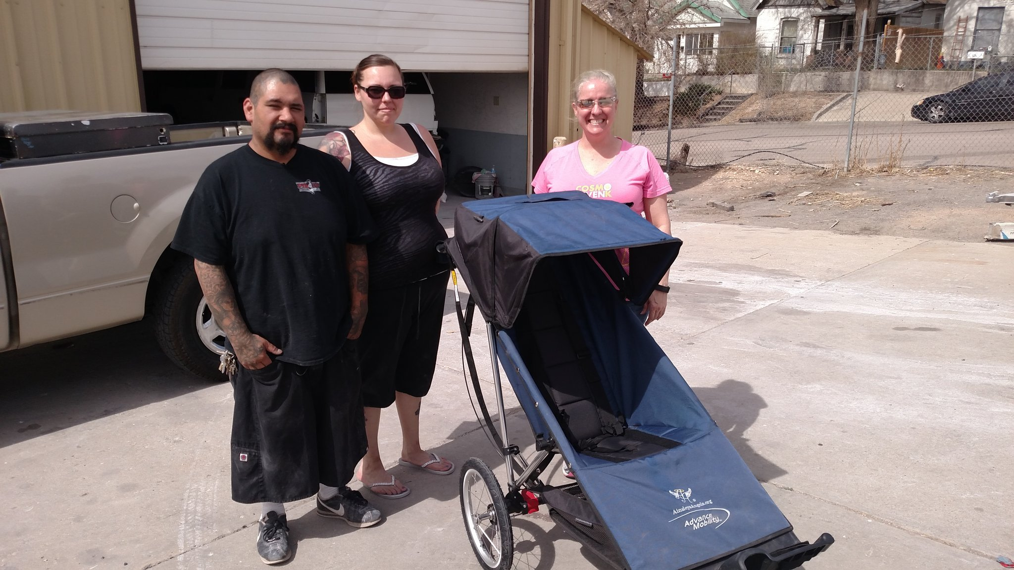 A stroller stolen in Pueblo was returned to the family Monday afternoon. (KOAA)