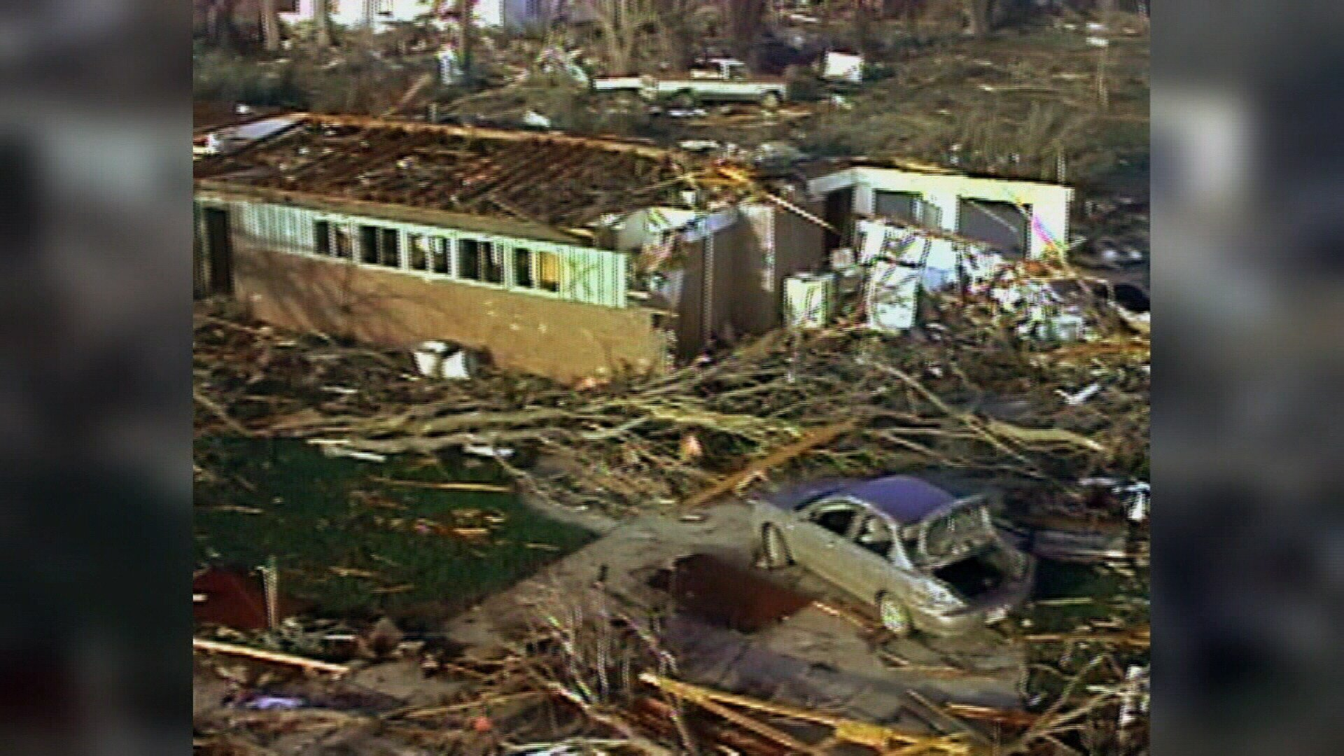 March 2007 - A tornado hit the small town of Holly, Colorado
