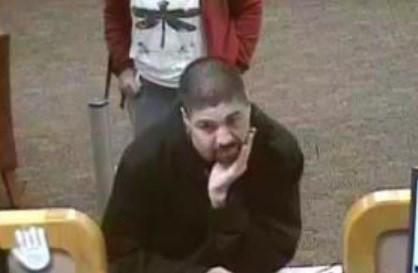 Surveillance photo from Wells Fargo bank on 201 W. 8th St. (Pueblo Police)