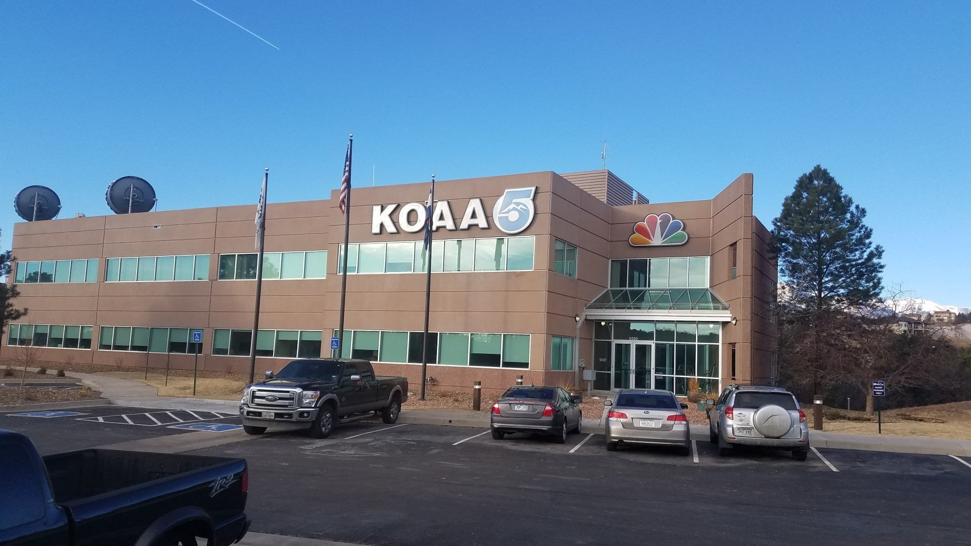 KOAA News 5 studios in Colorado Springs (2017)