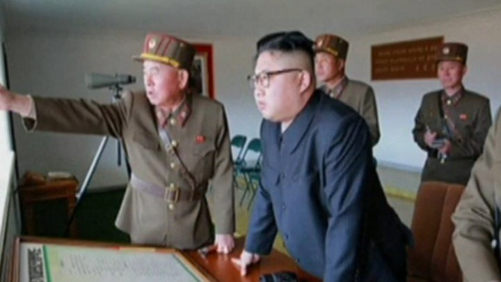 North Korean test missile explodes on launch, US says