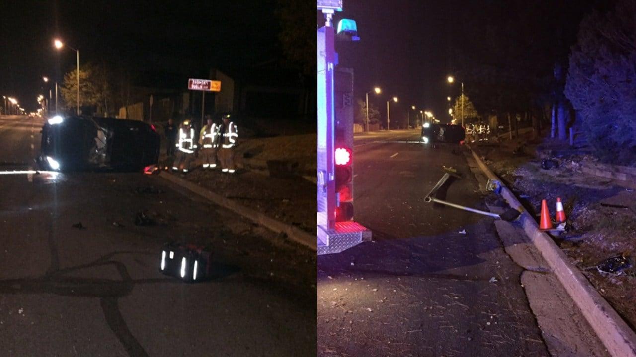 Car Crash Dublin Blvd