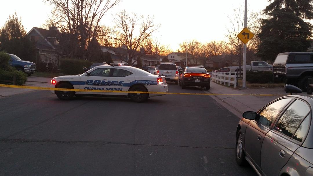 Police officers are investigating a shooting that sent a man to the hospital