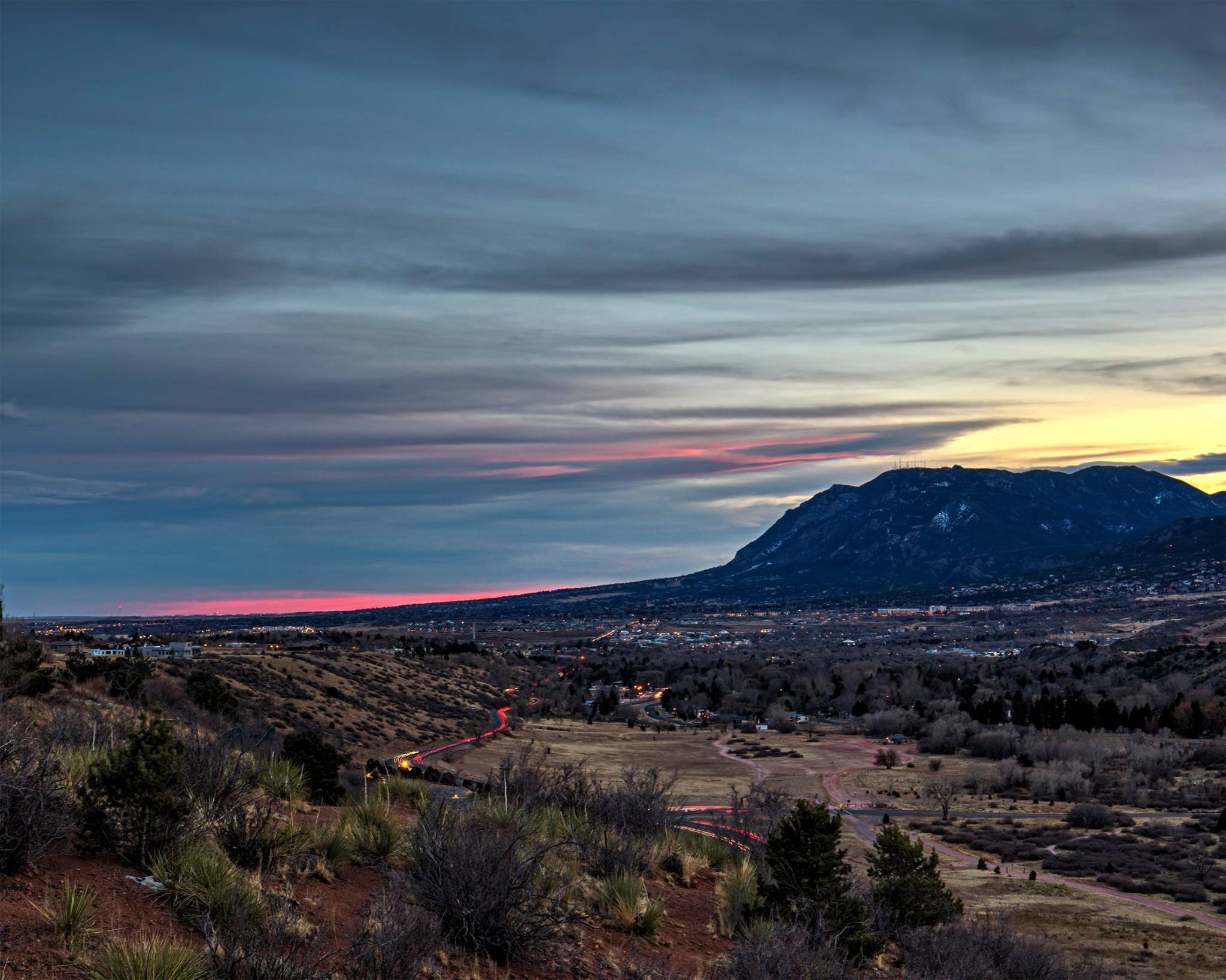 View of Cheyenne Mountain (Photo: Larry Marr)