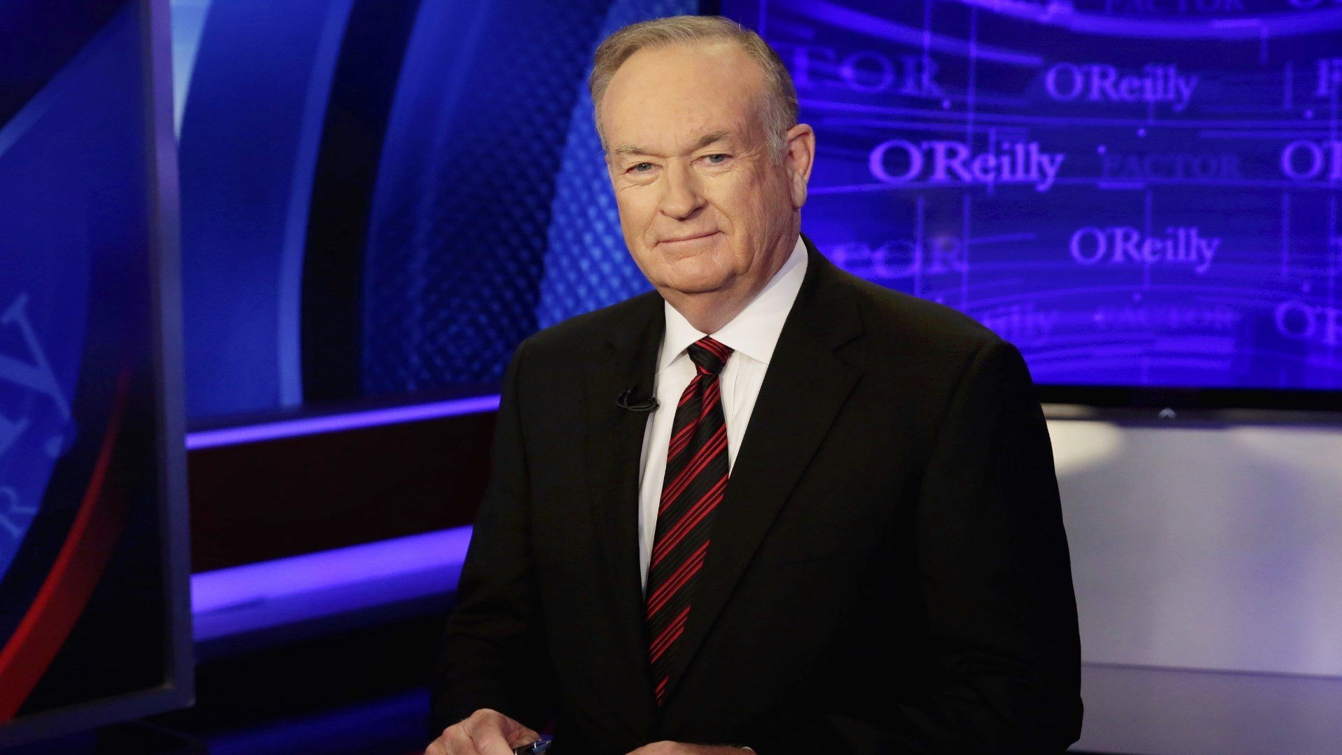 "Host Bill O'Reilly of ""The O'Reilly Factor"" program. (AP Photo/Richard Drew)"