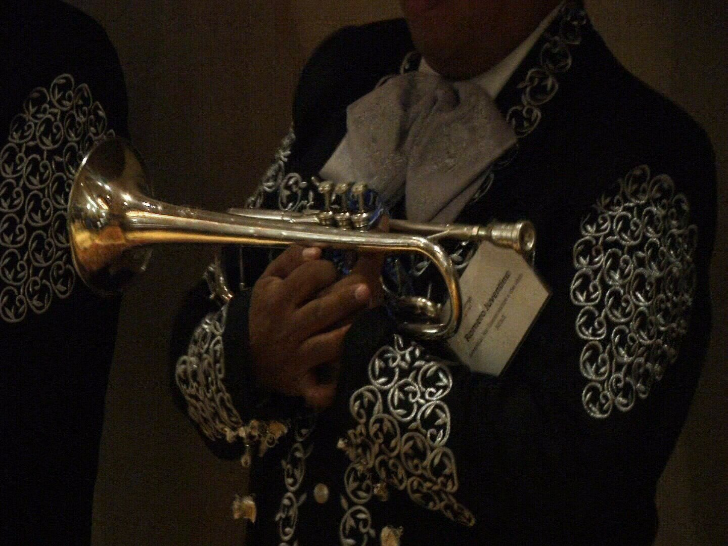 A Mariachi group interrupts Senator Gardner's private meeting with the Colorado Springs Chamber of Commerce. (KOAA)