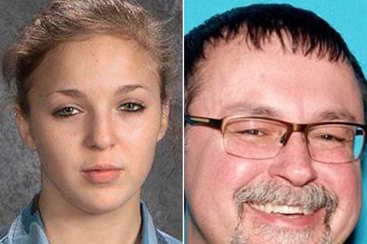 Student Elizabeth Thomas was reported missing from Tennessee in March. Authorities arrested her teacher, Tad Cummins in California. (NBC News)