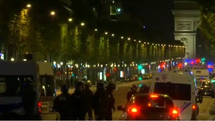 Terrorism suspected in shooting of police officers on Paris' famed Champs-Elysees boulevard. (AP)