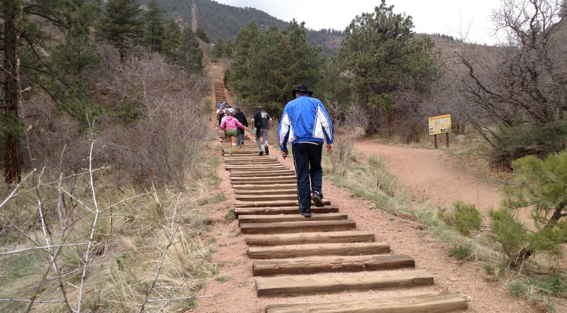 The Incline in Manitou Springs is a challenging ascent with rules on how to go up and down. (KOAA)