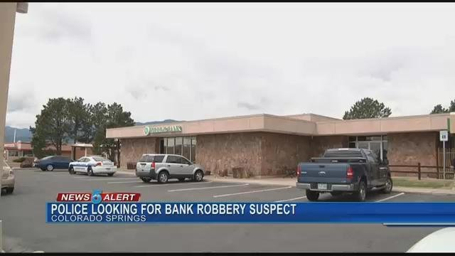 The Herring Bank on North Nevada was robbed Tuesday, April 25. (KOAA)