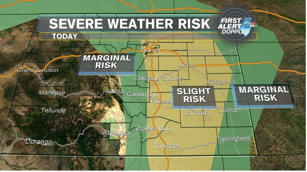 Latest Forecast: More Wet Weather For Most Of Colorado