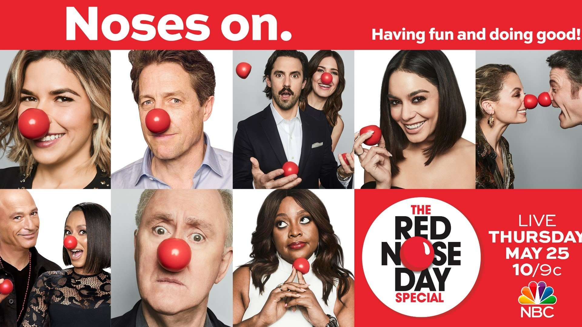 Red Nose Day coming May 25 to NBC