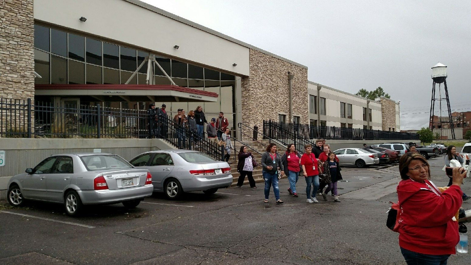 Employees of the AT&T call center in Pueblo walk off the job at 1 p.m.