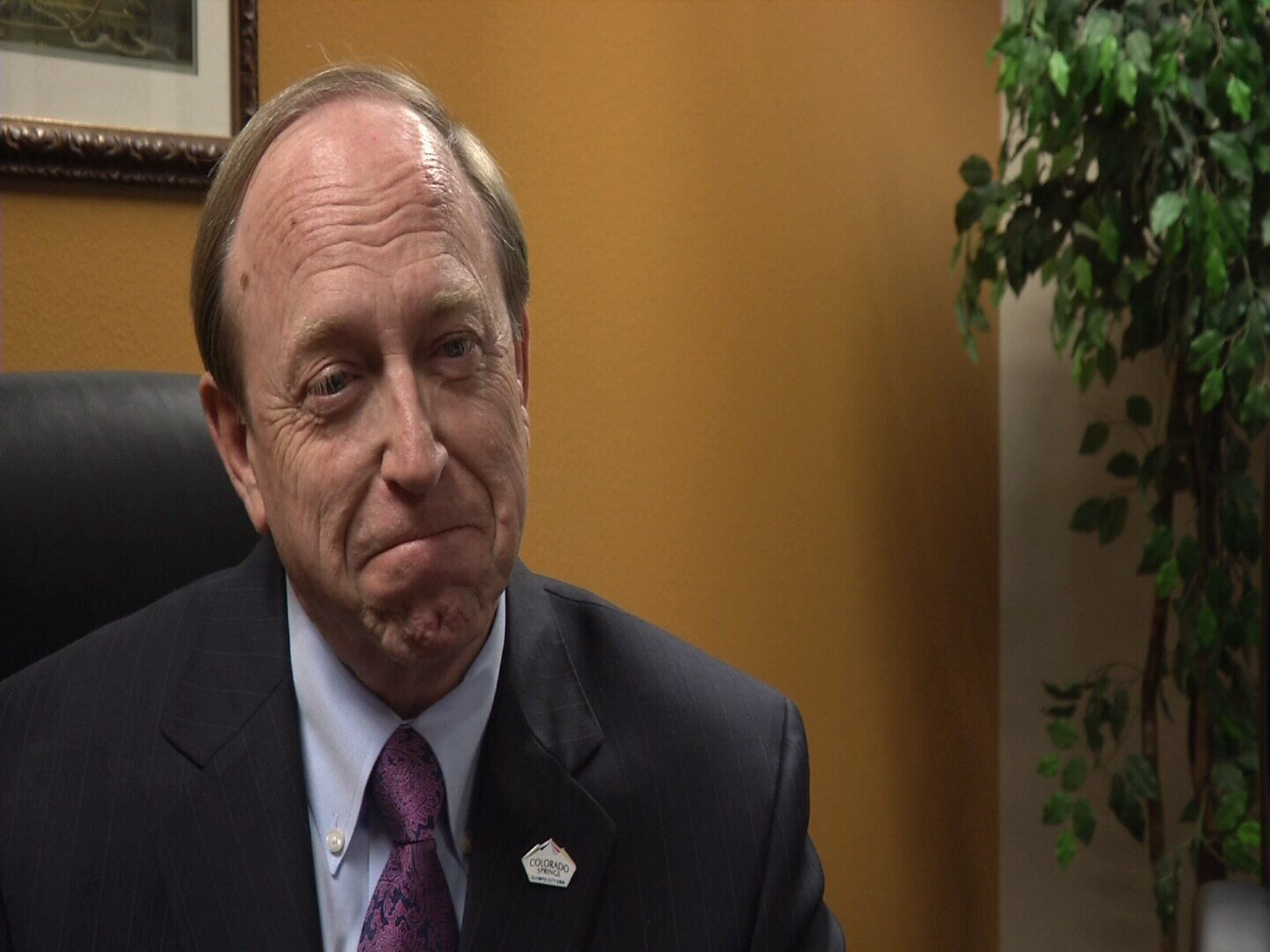 Colorado Springs Mayor John Suthers speaks out for the first time since being considered as the FBI Director replacement. (KOAA)