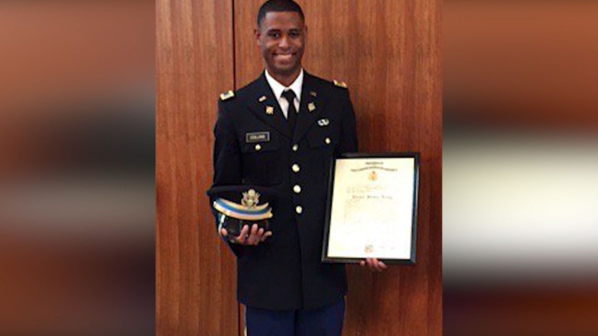 Army 2nd Lt. Richard Wilbur Collins III was stabbed to death on a University of Maryland campus.