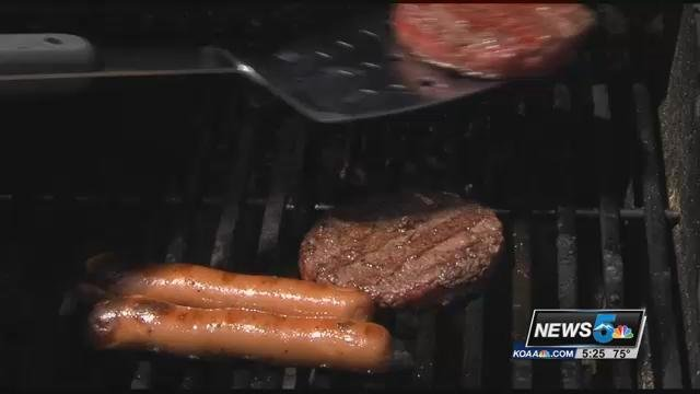 This weekend is often the first time many people fire up the grill and that can lead to some occasional mishaps says Dr. Tullberg.