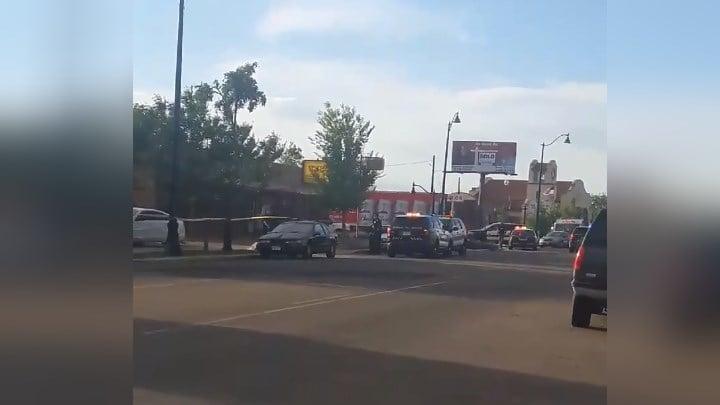 Pueblo PD investigates fatal shooting on Lake Avenue. (Courtesy: Merlinda Lujan)