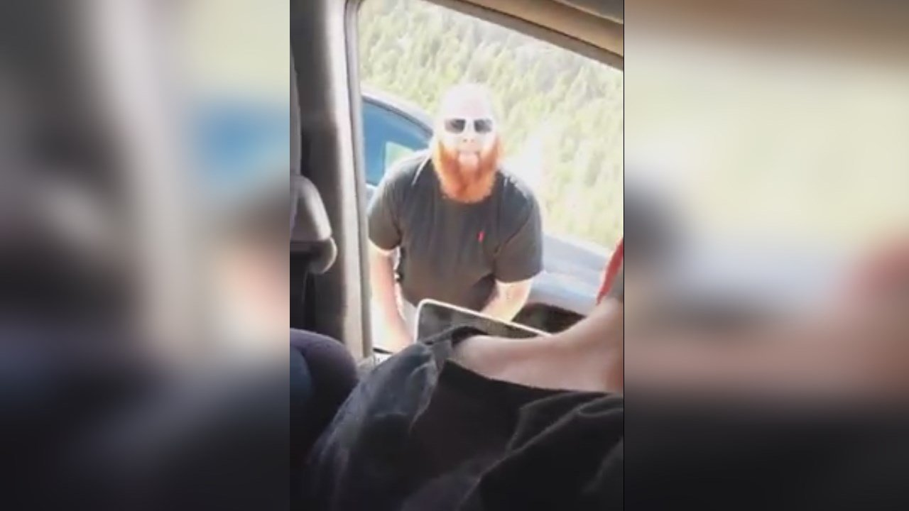 A driver punched a man in the face while using extensive foul language during a road rage incident. (Lyfe Engelhart)