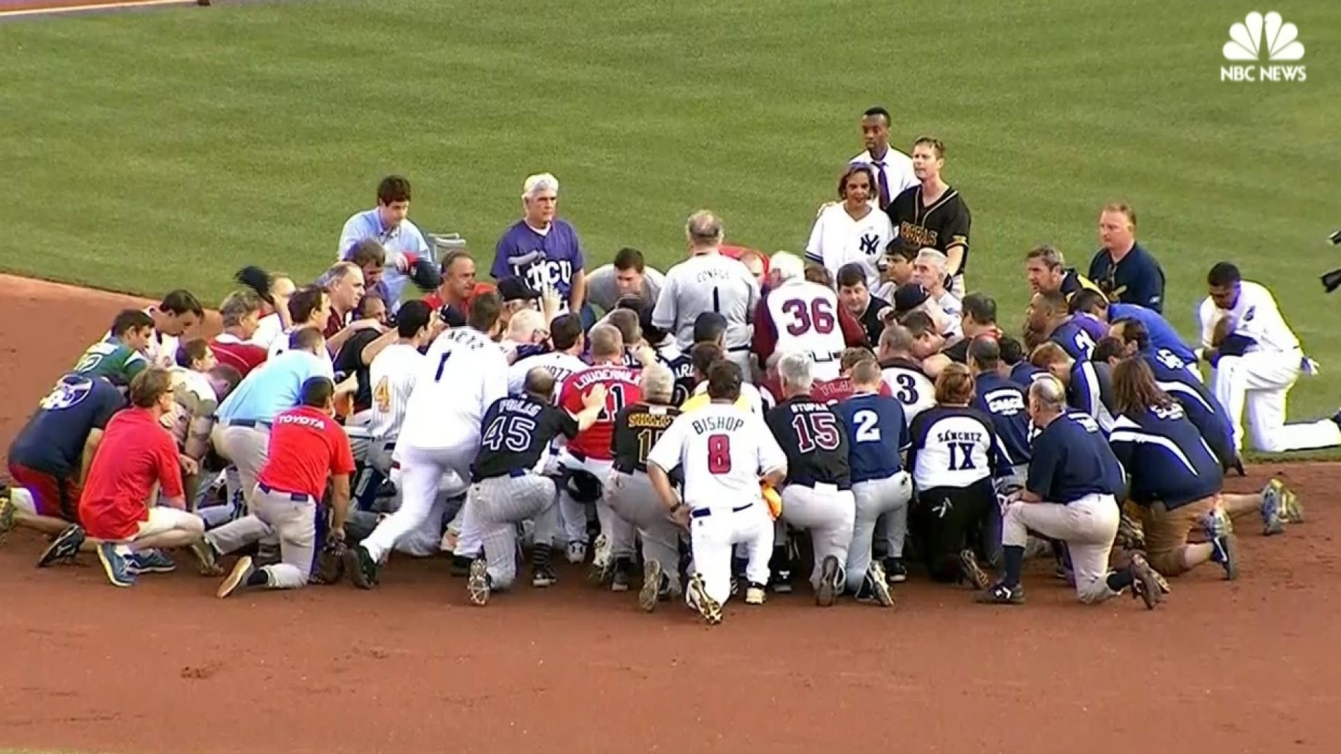Congressional Baseball game played in wake of shooting during practice.