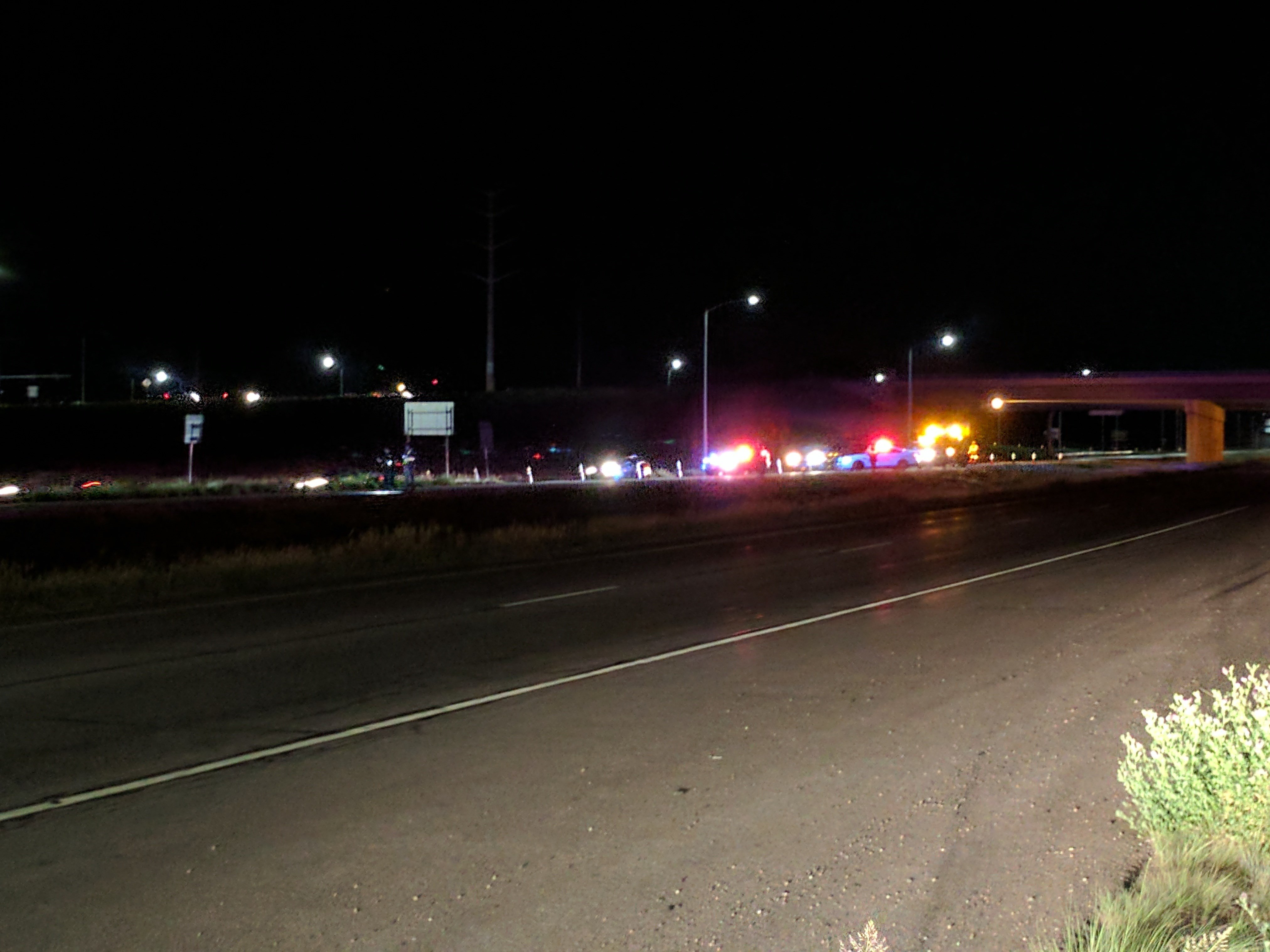 State Patrol investigating fatal crash SB I-25 at Mesa Ridge