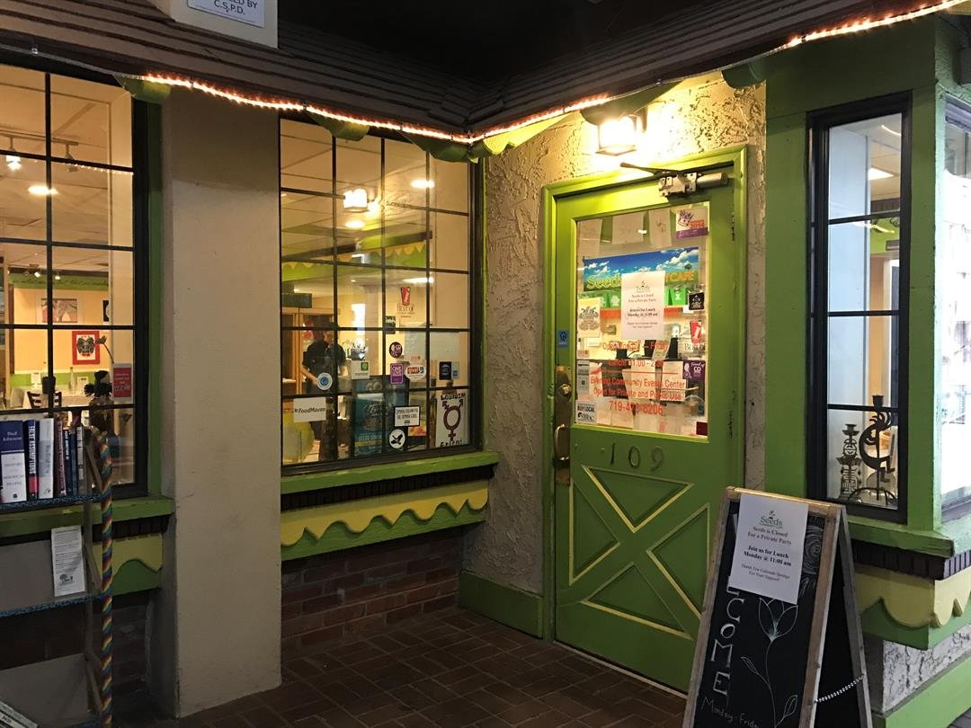 Seeds Community Cafe is open Monday through Friday in downtown Colorado Springs. (KOAA)