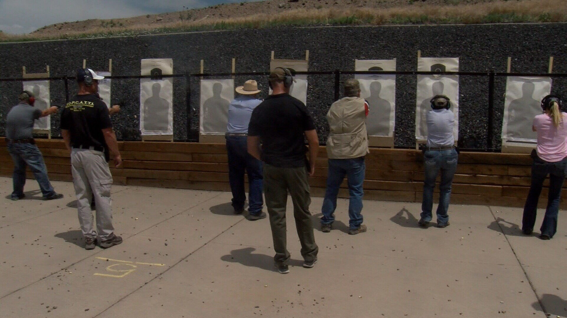 Teachers train to use guns to stop school shooting in Weld County.