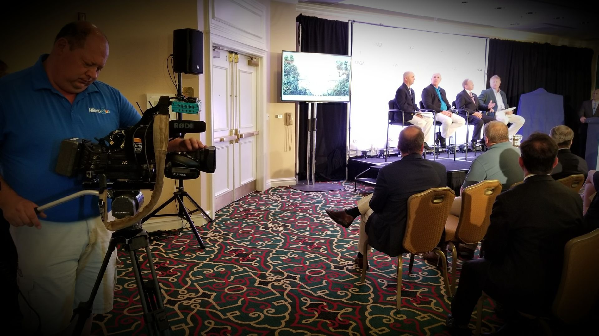 The Broadmoor hosted a launch event in advance of the 2018 U.S. Senior Open on July 18, 2017.