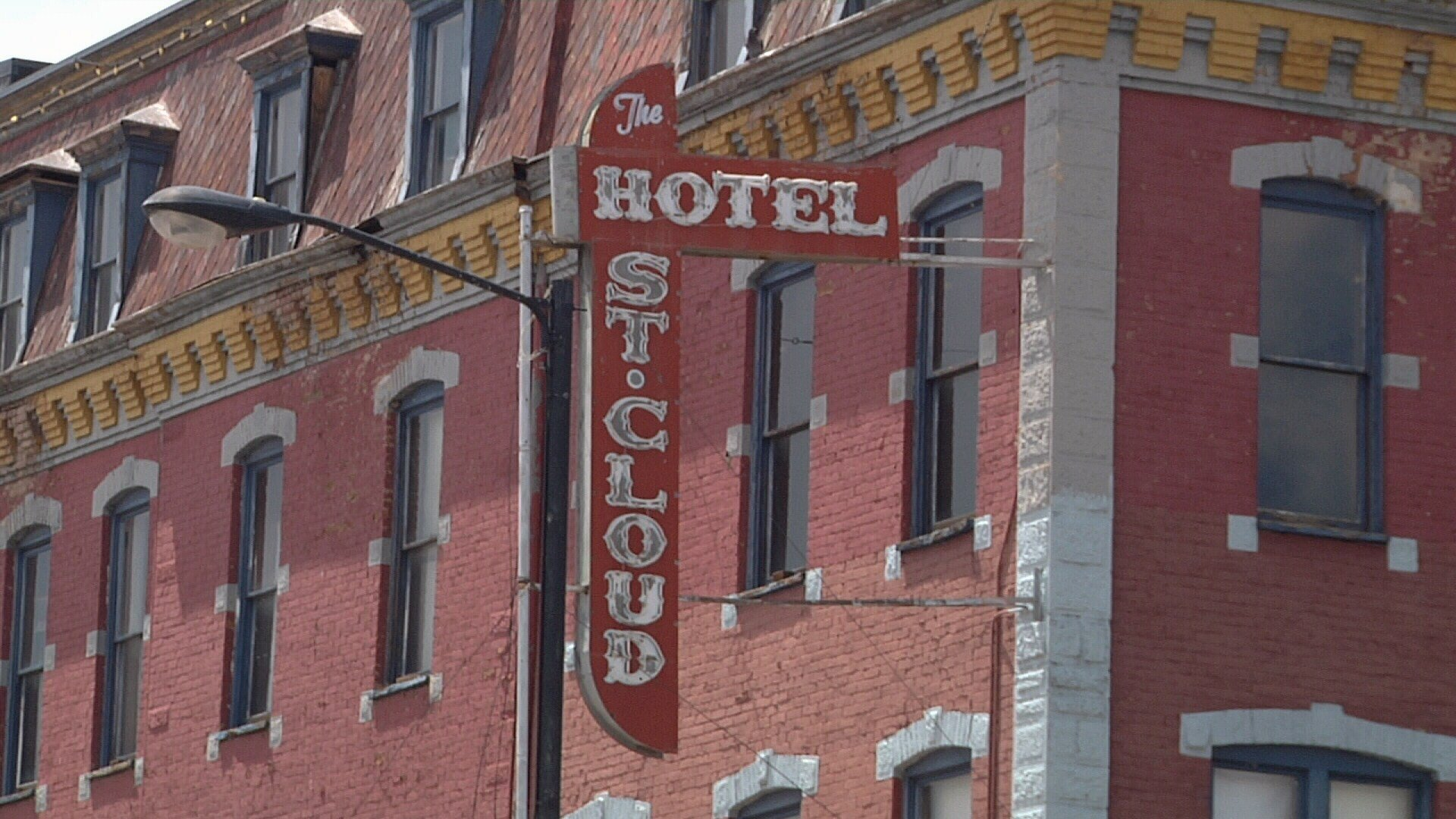 Hotel St. Cloud off of Main St. in Canon City on July 18, 2017.