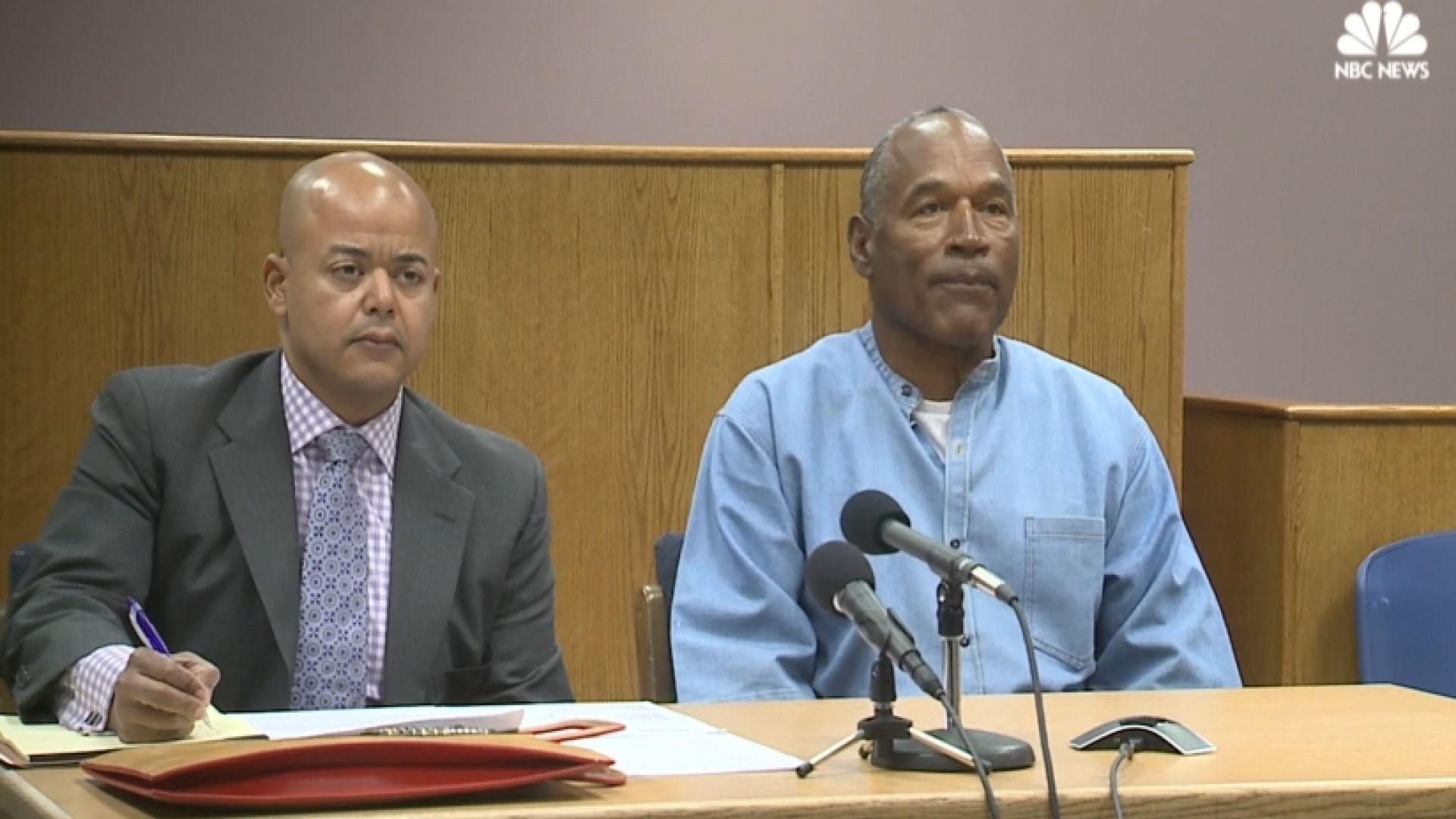 OJ Simpson has served almost 9 years in a Nevada prison. (NBC News)