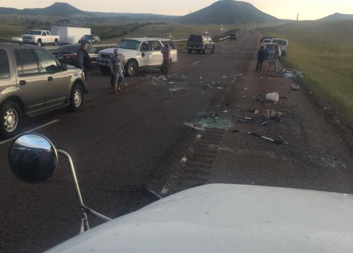 Crashes close northbound Interstate 25 north of Monument