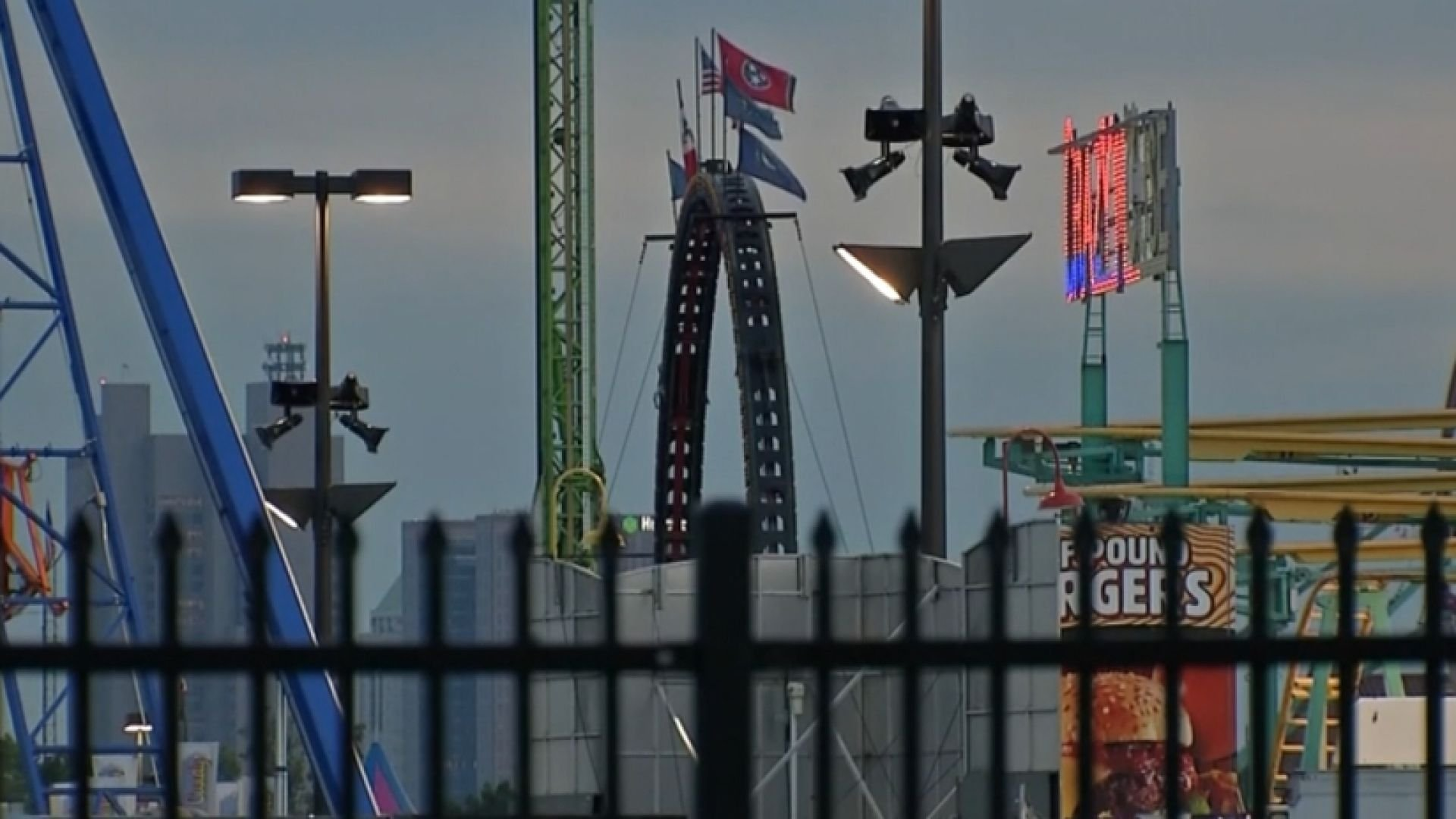A spinning ride at the Ohio State Fair came apart on July 26.