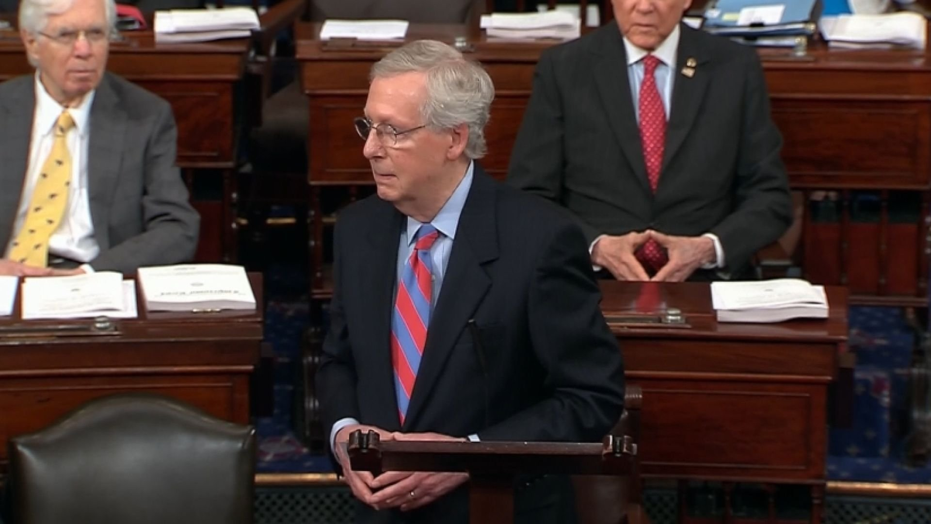 Senate passes budget along mostly party lines