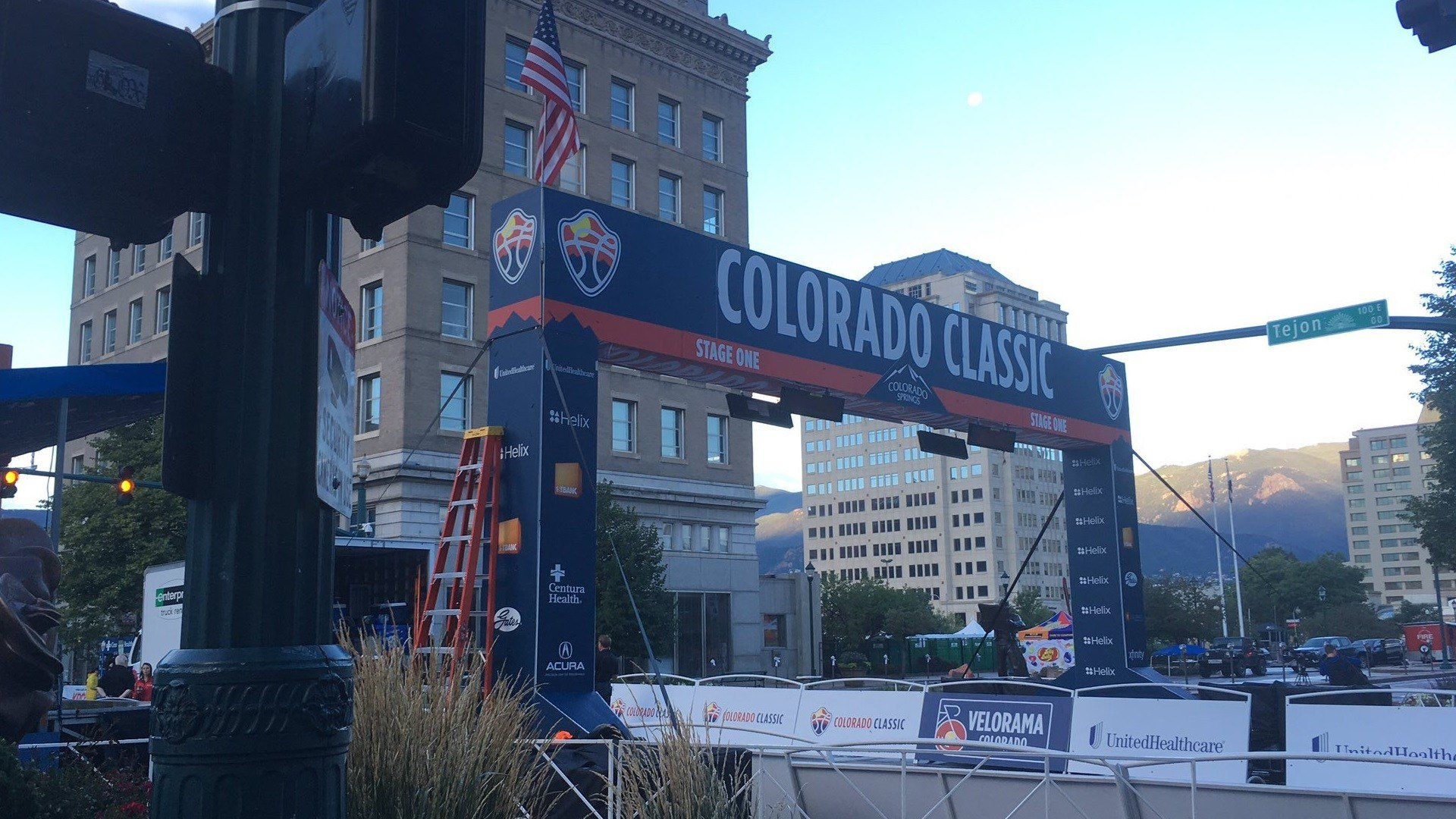 Start line for the Colorado Classic in Colorado Springs. (KOAA)