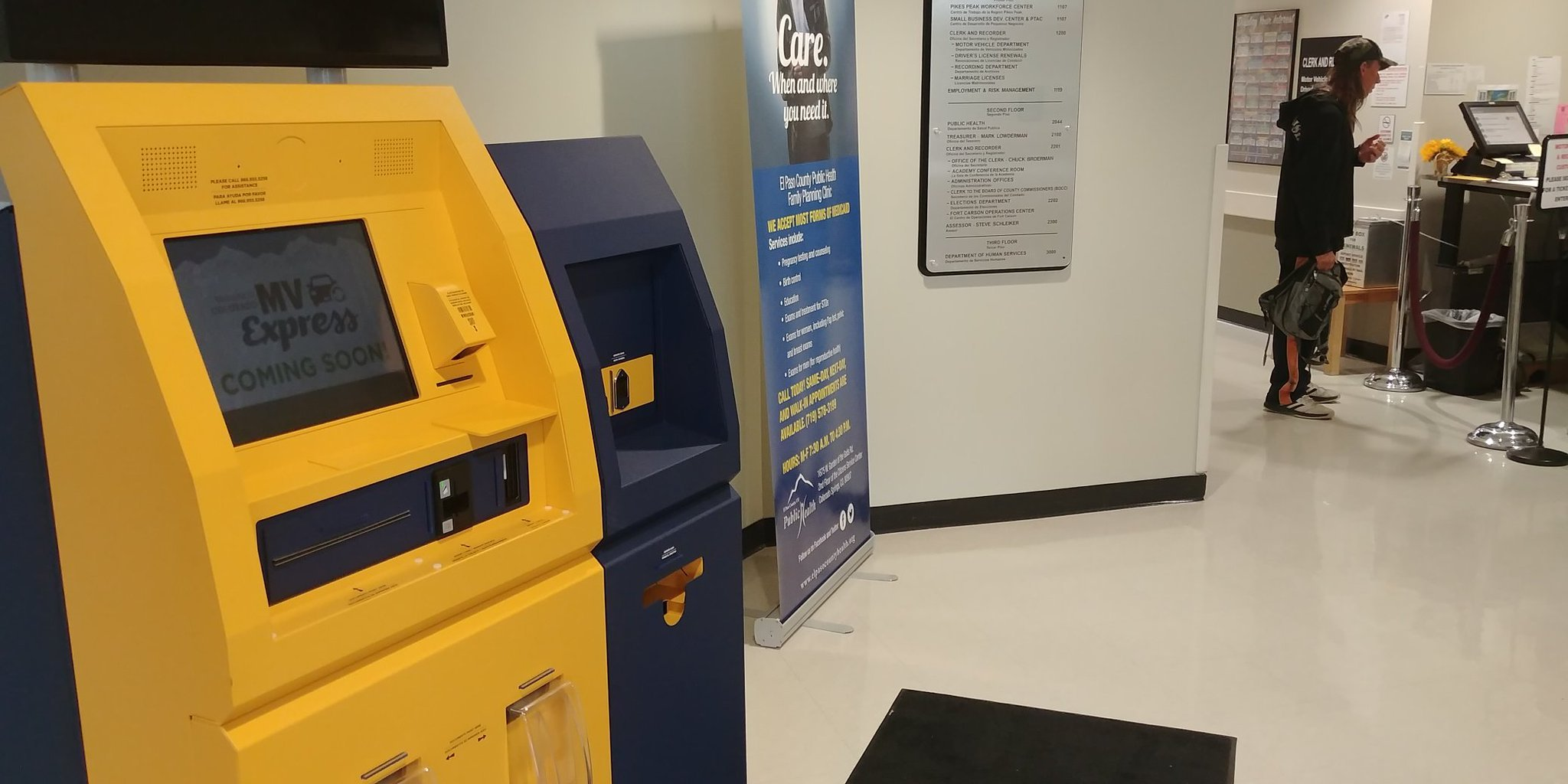 New kiosks are coming to help customers at the DMV in El Paso County. (KOAA)
