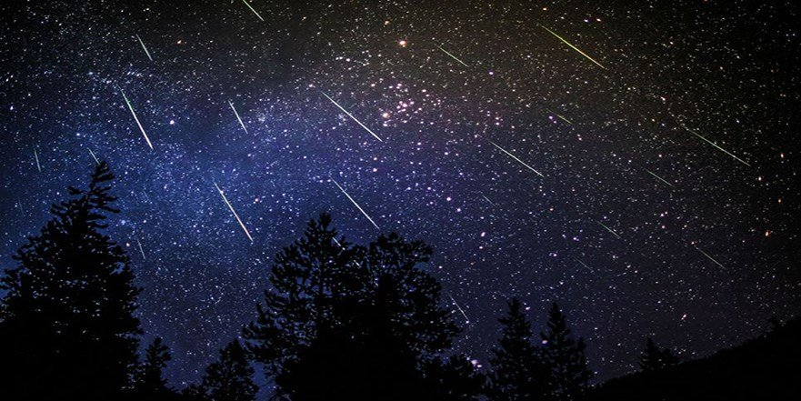 If you can see through the clouds, there's a meteor shower happening tonight in Ireland